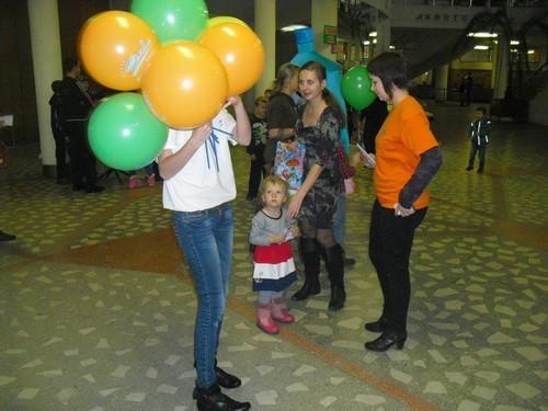 Подарки в цирке от Аква-Мир