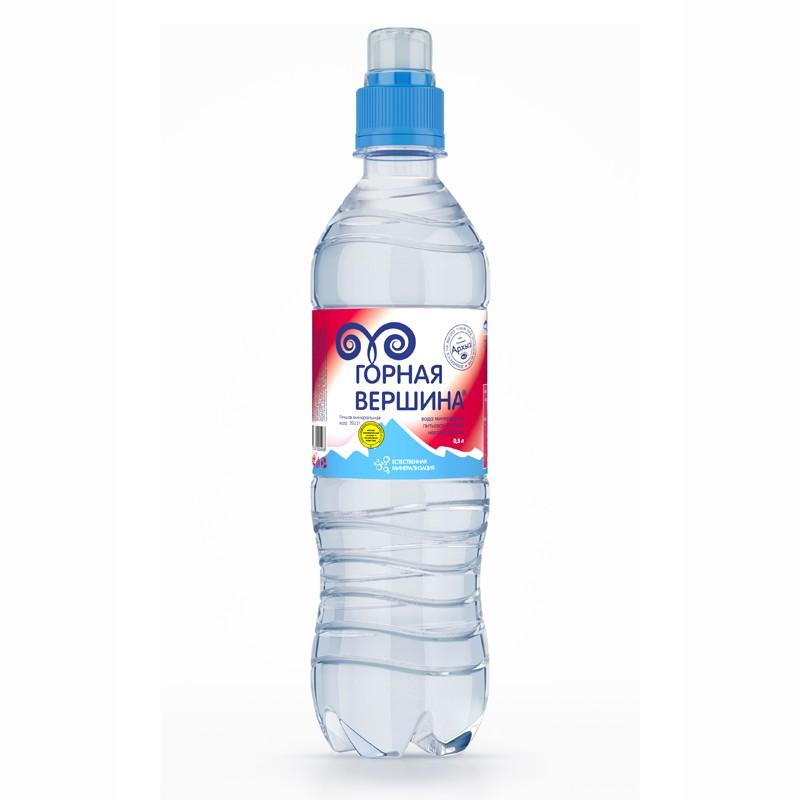 В-Вода 0,5л Горная вершина, минер.б/газ