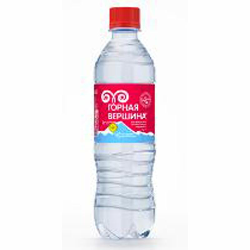 В-Вода 0,5л, Горная вершина,минер.газ