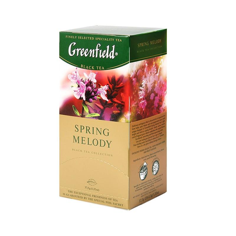 Б-Чай Гринфилд Spring Melody, черн., 25п.*2г.