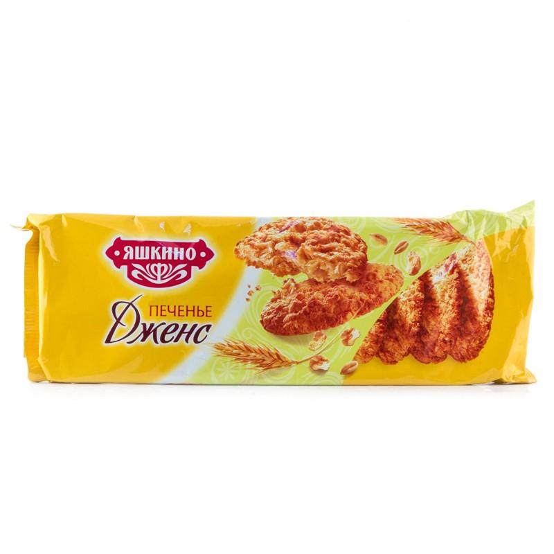 К-Печенье Яшкино сдобн., Дженс, 180г.