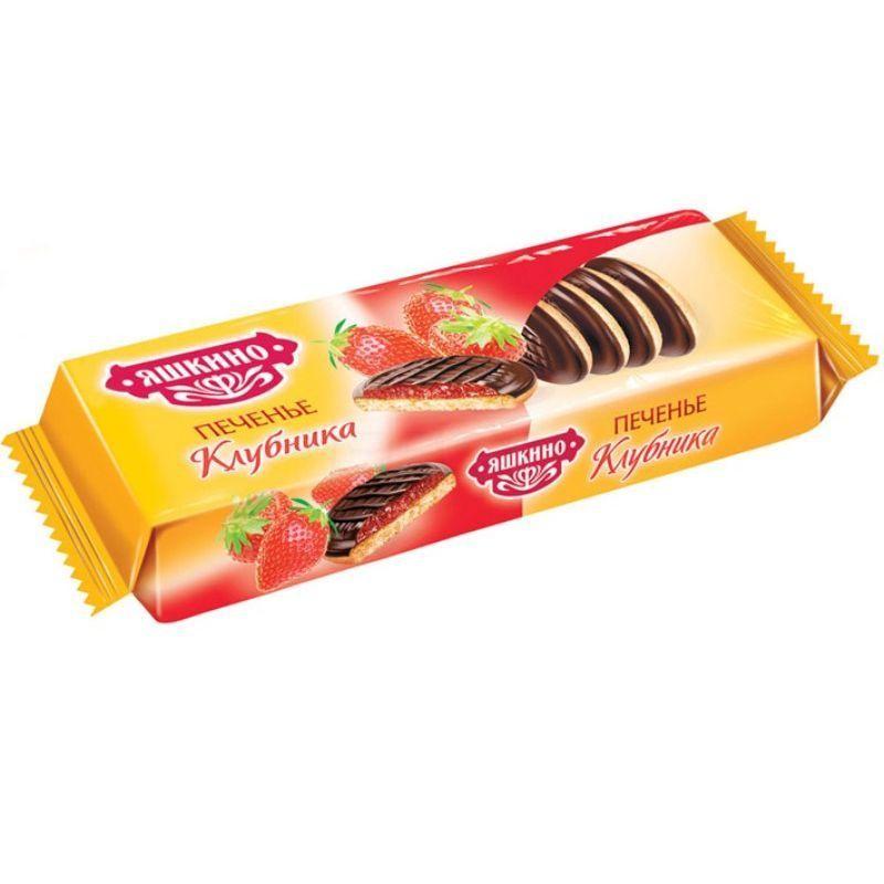 К-Печенье Яшкино сдобн.,Вишня, 137г.