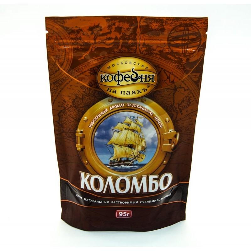 Кофе МКП Коломбо 95 г /ст.*12